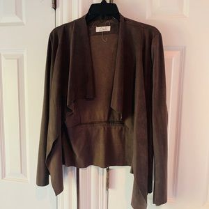 George our brown suede jacket